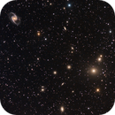 NGC 1365 and friends,                                DiscoDuck