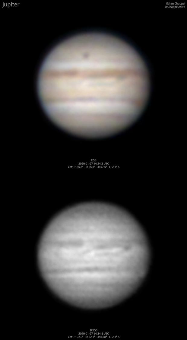 Jupiter after sunrise,                                Chappel Astro