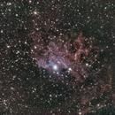 FLAMING STAR NEBULA, IC 405,                                nicholas disabatino