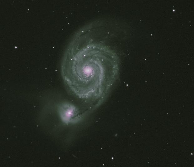 M51 The Whirlpool Galaxy (My first LRGB photo),                    Marc Silva