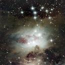 Running Man Nebula   NGC1973,                                Ray Heinle