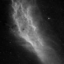 The California Nebula, NGC 1499, H-alpha,                                Eric Coles (coles44)