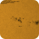AR 152 + Solar Continuum,                                  Astroavani - Ava...