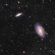 M81 and M82 in LRGB,                                Scott