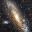The Andromeda Galaxy, Messier 31 or M31.,                                Gabriel - Uranus7