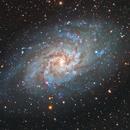 Spiral Galaxy M33 - The Triangulum Galaxy,                                Fernando Oliveira de Menezes