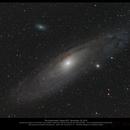 The Andromeda Galaxy,                                Dominique Callant
