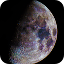 Mineral moon: the real moon's color,                                Leonardo Solidoro