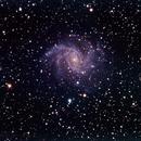 NGC 6946 - Fireworks galaxy - RGB,                                Rodolphe Goldsztejn