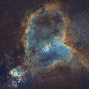 Heart Nebula Mosaic in SHO,                                Nick Lake