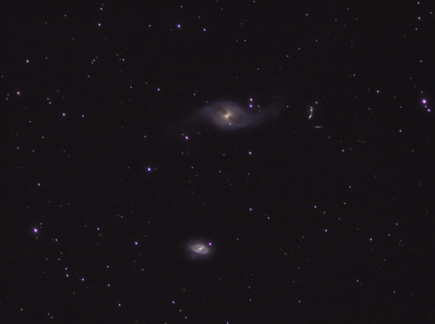 NGC 3718,                                Mike Hislope