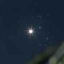 Venus + Pleiades,                                Alessandro Merga