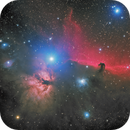 DSW HorseHead Nebula, a LRGB picture processing attempt,                    Niels V. Christensen