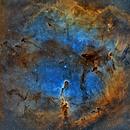 IC1396 Elephant's Trunk Nebula Narrowband,                                Girish