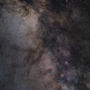 between Scutum Cloud and Messier 16/17,                                Jenafan