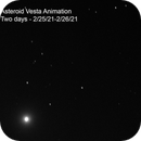 Asteroid Vesta - Two-day Animation,                                Eric Coles (coles44)
