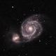 M51: The Whirlpool Galaxy (OSC) (2020),                                Daniel Tackley