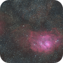 Messier 8 with  Sh2-29 and IC 1274 - QHY 268m first time on Esprit 100,                                Niko Geisriegler