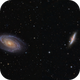 Mosaic M81 + M82,                                skyimages