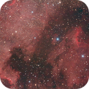 Integration Step n.1 - Pelican and North American Nebulae (IC5070 and NGC 7000) ,                                Agostino Lamanna
