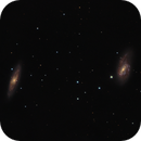 Messier 65 and 66,                                Mark Spruce