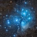 M45 Pleiades 4 Panel Mosaic,                                Ezequiel