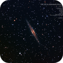NGC 891 (Silver Sliver Galaxy) in Andromeda,                                MJF_Memorial_Observatory
