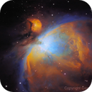 M 42 - Hubble Palette and Starless test,                                Gerson Pinto