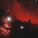 Horsehead & Flame Nebula NGC2024, IC434,                                matthew.maclean