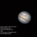 Testing the new planetary camera,                                  Alessandro Sperinde'