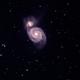 Whirlpool Galaxy,                                David Holko