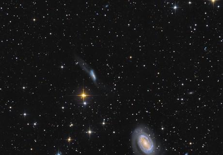NGC 4725, 4747 & 4712,                    Roman Feldhaas
