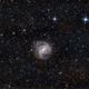 Southern Pinwheel galaxy, M83,                                KineCaroca