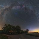 Milky Way and Comet C / 2020 F3 NEOWISE,                                Łukasz Żak
