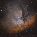 Pacman Nebula (NGC281) in Ha/OIII,                                Jose Carballada