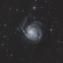 M101 - The Pinwheel Galaxy,                                Kai Albrecht