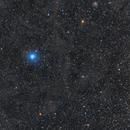 Galactic Cirrus around Polaris,                                Die Launische Diva
