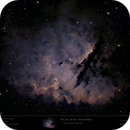 How good is a non APO in Narrowband? Sh2-184 - Pacman Nebula,                                  Uwe Deutermann