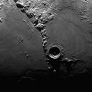 "Montes Apenninus, Sinus Aestuum, Archimedes, Eratosthenes and the ancient ""ghost"" crater Stadius - 06/18/2021,                                Loxley"