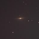Galáxia do Sombrero (M104),                                Geovandro Nobre