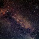 Übersichtsaufnahme Sternbild Schwan,                                astroclausi