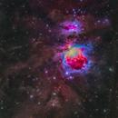 M42 The Great Orion Nebula,                                astrodabo