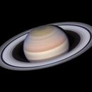 Saturn with animation: 2019-05-20 19-22 UT (redux),                                Darren (DMach)