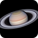Saturn with animation: 2019-05-20 19-22 UT (redux),                                  Darren (DMach)