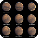 Mars, end of November, with 5 hours animated GIF, T250 f/4  /  Powermate 5x  /  ASI385,                                Pulsar59