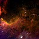 Cave Nebula SH2-155,                                dts350z