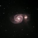 The Whirlpool Galaxy - M51,                                Starman609