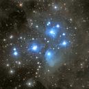 The Pleiades Star Cluster,                                Elliott McKinley