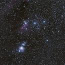 Orion  constellation,                                Olivier PAUVERT