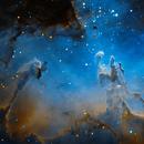 Pillars of Creation (SHO),                                Nick's Astrophotography